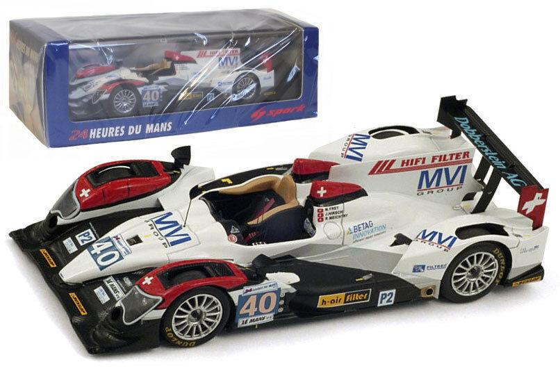 Spark s3719 Oreca 03-judd ' el rendimiento de carrera   Le Mans 2012 - 1 43 Escala