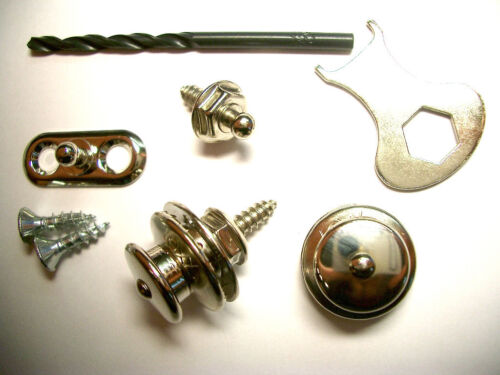Loxx Security Lock Acoustic Paar nickel