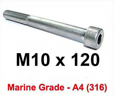 M18 x 120 Stainless Steel Hex Bolt Set Screws 18mm x 120mm Stainless Bolts