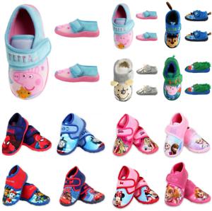 Kinder Pantoffeln Hausschuhe Kindergartenschuhe Textileschuhe Paw Patrol Peppa