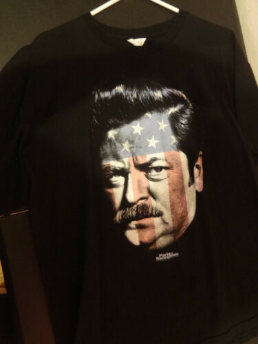 parks and recreation shirt xl mens black pre owned