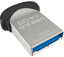 SanDisk Ultra Fit 64 GB USB 3.0 Flash Drive