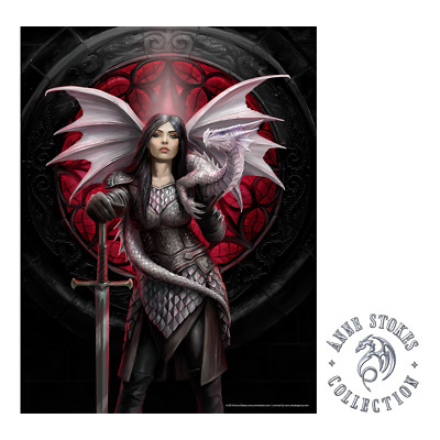 Anne Stokes Print Royal Court Canvas 25x19cm