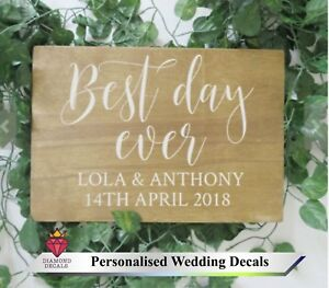 Personalise-Wedding-Sign-Custom-Venue-Welcome-Decor-Notice-Sticker-Vinyl-Decal-1