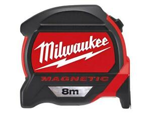 Milwaukee-Hand-Tools-MHT932464177-Premium-Magnetic-Tape-8m-Width-27mm-Metric-O