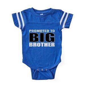 0e8b3459 CafePress Promoted To Big Bro Baby Football Bodysuit (324157811) | eBay