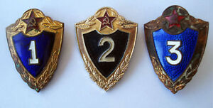 Soviet-Army-Soldier-SPECIALIST-Class-Badge-Metal-Pin-USSR-Original-1960-70s