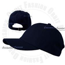 Cotton Hat Baseball Cap Washed Polo Style Plain Adjustable Blank Dad Caps  Hats 1c6db4ec3b8