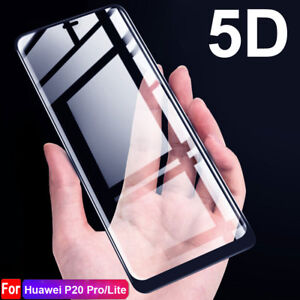 5d premium h9 glas folie f r huawei p20 pro lite screen protector h lle ebay. Black Bedroom Furniture Sets. Home Design Ideas