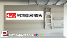 YOSHIMURA MOTO WORKSHOP GARAGE Banner KAWASAKI, Z750, SUZUKI SERIE GS