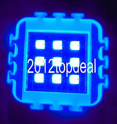 1pcs 10W 10 Watt Royal Blue High Power LED bead Light Lamp Chip 450-455NW 45mil