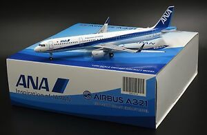 ANA Airbus A321 Reg: JA111A JC Wings 1:200 Diecast Models XX2418
