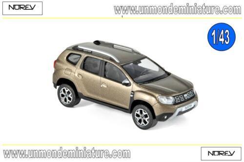 Echelle 1//43 Dacia Duster 2018 Vison Brown  NOREV NO 509001