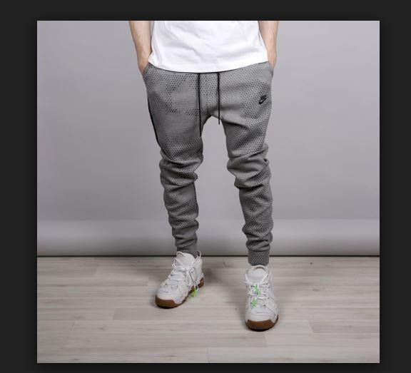 Shop Grey Nike Tech Fleece Joggers for Men | NISNASS