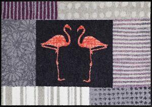 Fussmatte-Design-Fussmatte-Salonloewe-SLD-1625-Fussmatte-Flamingo-Flamingos