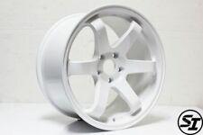 Rota Grid Wheels White 18x95 38 5x100 Subaru Wrx 02 14 Sti 04 Tc 04 10