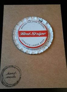 BOTTLE-CAP-FRIDGE-MAGNET-RED-STRIPE