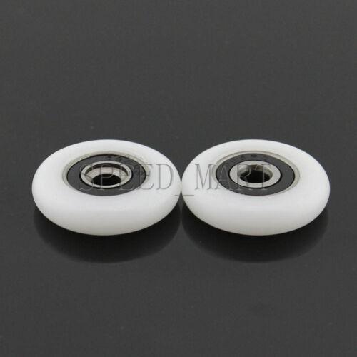 OD 18.5//20//23//25//27mm Ball Bearing Wheel Sliding Door Pulley Roller