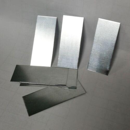 2PCS Zinc Electrode Strips Experiment Scientific DIY Supplies for Presentation