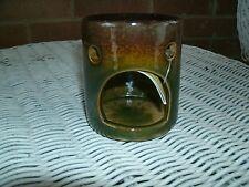Ceramic Fragrance Scent Essential Oil Warmer Diffuser Wax Tart Burner, New
