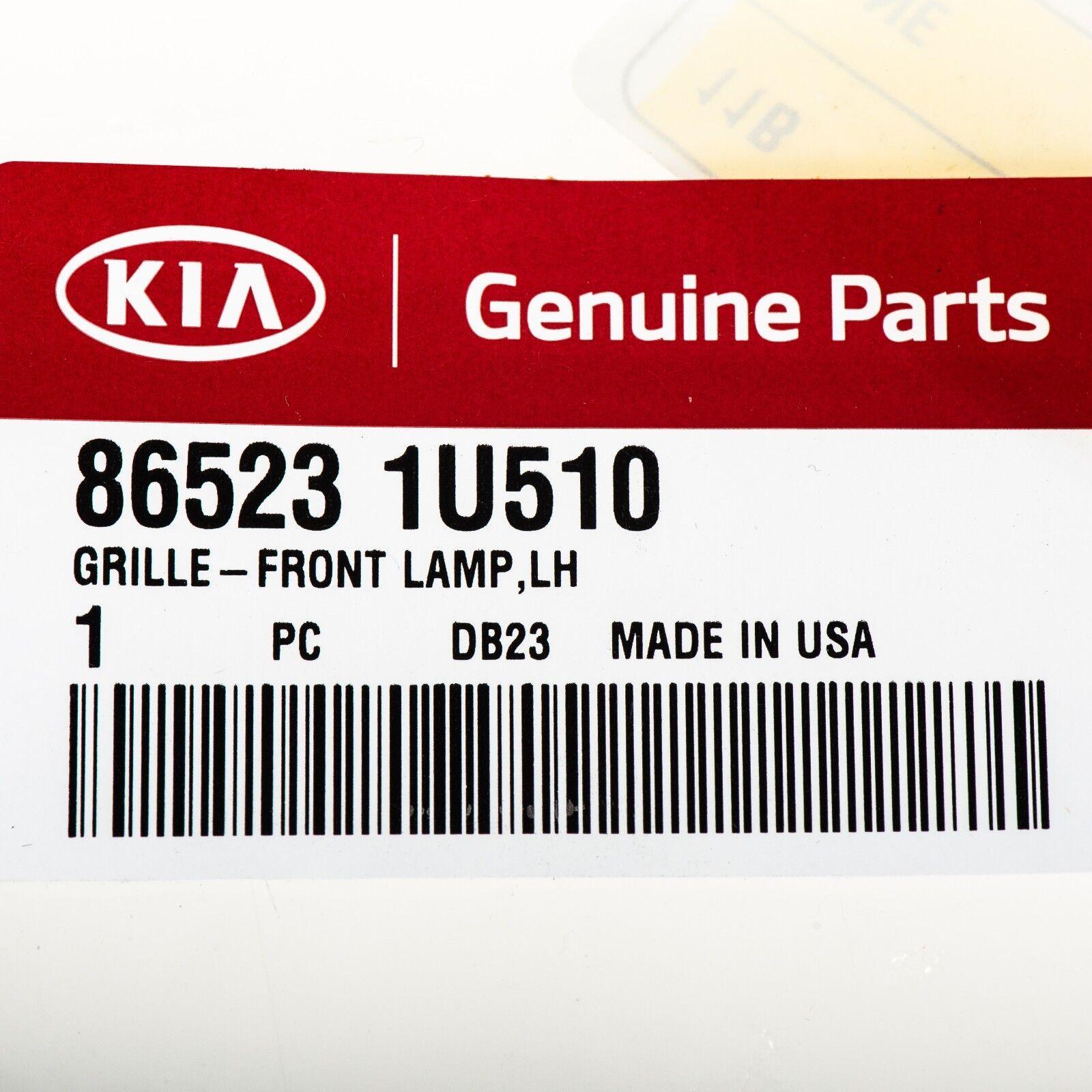 Kia Oem 14 15 Sorento Front Bumper Foglight Fog Light Bezel Trim 2015 Wiring Harness Left 865231u510 Ebay