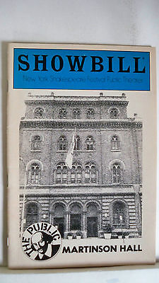 Buried Inside Extra Showbill Hal Holbrook Autographed Nyc 1983 To Adopt Advanced Technology Theater
