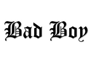 Bad Boy Aufkleber 20cm Sticker FUN Junge Autoaufkleber decal 24 #8287