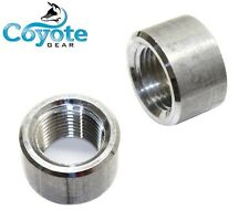 """Free Shipping 2 Pack of 1/2"""" NPT Female Pipe Thread Weld Bungs Aluminum Bung"""