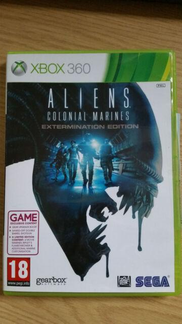Aliens: Colonial Marines -- Extermination Edition (Microsoft Xbox 360, 2013)