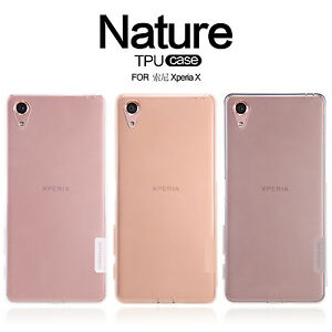 buy online 48ea7 0c7c3 Details about For Xperia X Case Nillkin Nature Protective TPU Case Cover  For Sony Xperia X