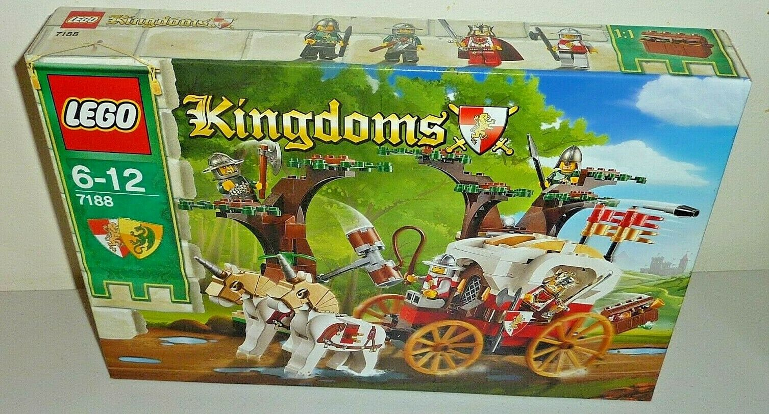 Lego kingdoms 7188 kings carriage new sealed