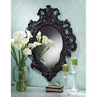 17th Cen French Rococo Replica Garland Of Roses Salon Wall Sculpture Mirror