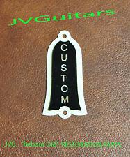 1950's Truss Rod Cover fits Gibson CUSTOM engraved Restoration Parts JVGuitars