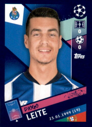 Topps Champions League 18//19 Diogo Leite Sticker 408