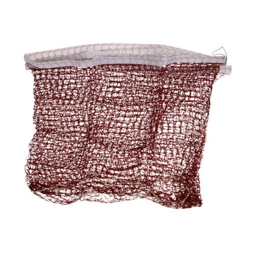 Standard Braided Badminton Replacement Net Netting 6.1X0.76m Purplish red