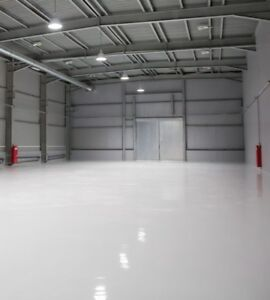 INDUSTRIAL - SHOWROOM -  GARAGE FLOOR PAINT LARGE 20LTR GREY - FREE DELIVERY