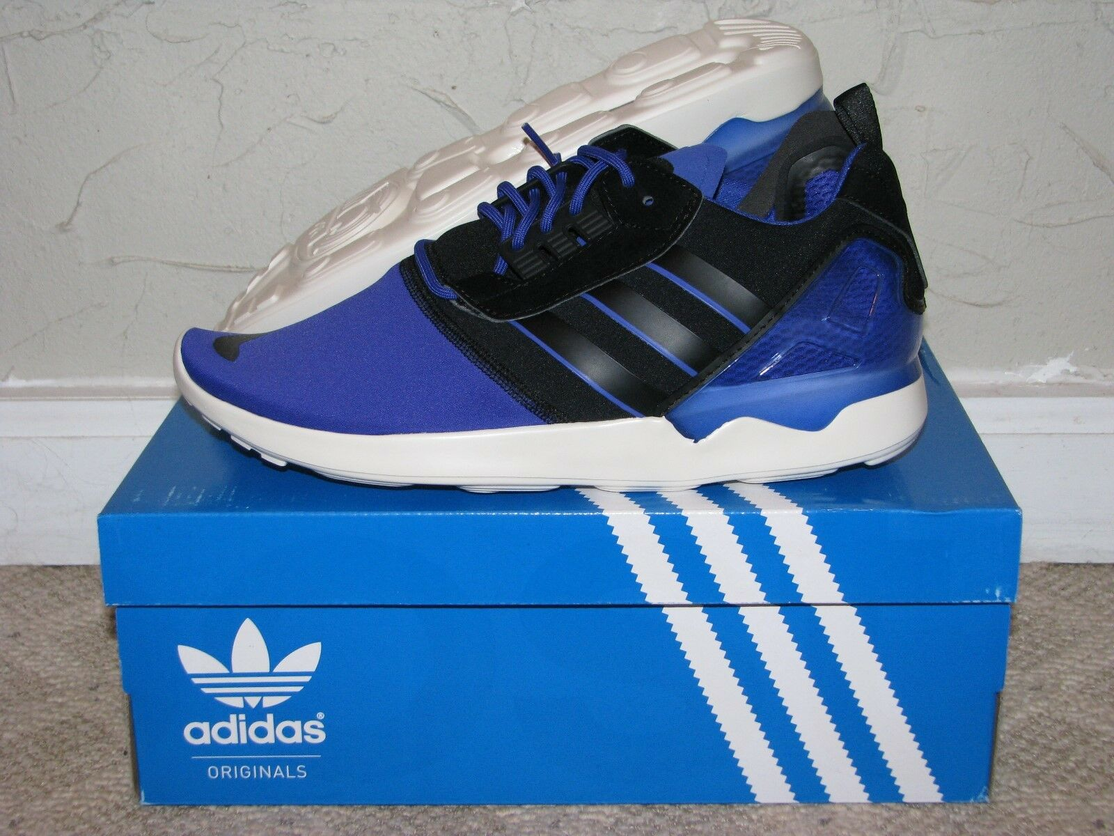 adidas ZX 8000 Boost Purple/Black/White Mens Size 9.5 DS NEW! B26370