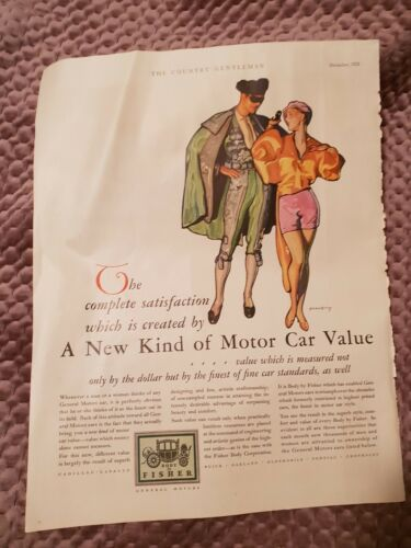 General Motors 1928 Advertisement