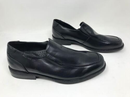New Black V62 Men/'s Croft /& Barrow 131796 LUKE Slip-On Dress Shoes