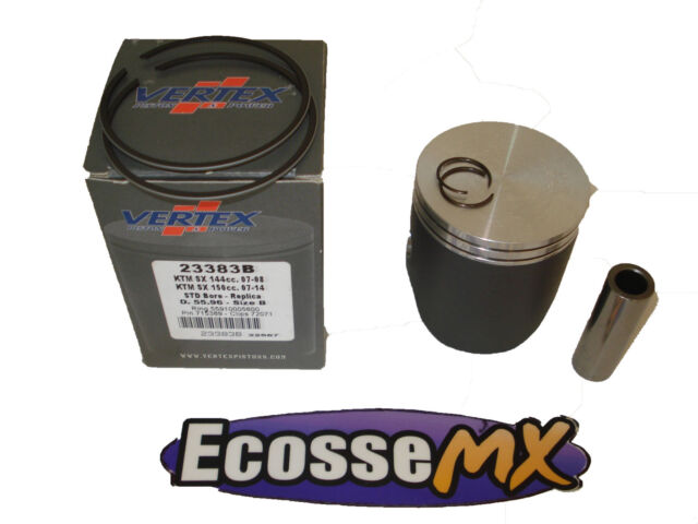 KTM EXC125 XC125 2001-2018 Vertex Kit Pistón 53.95B 24234 Motocross