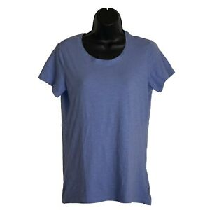 Womens-Columbia-Periwinkle-Purple-Short-Sleeve-Shirt-Top-Size-M-Medium