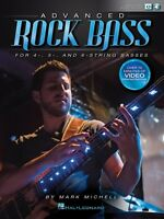 Advanced Rock Bass For 4, 5 And 6 String Basses Bass Instruction Book 000141066