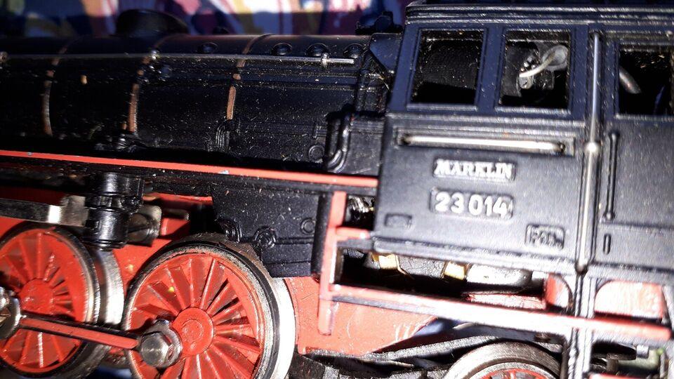 Modeltog, Märklin Gaveæske med lokomotiv 3005/23014,