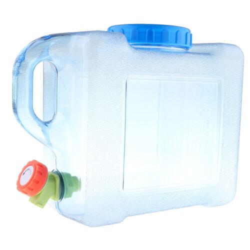 5L 8L Wasserkanister Trinkwasser Kanister aus Kunststoff für Picknick Outdoor