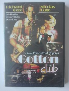 COTTON-CLUB-DVD-FRANCIS-FORD-COPPOLA-EDICIoN-ESPANOLA-NUEVO-NEW-SEALED