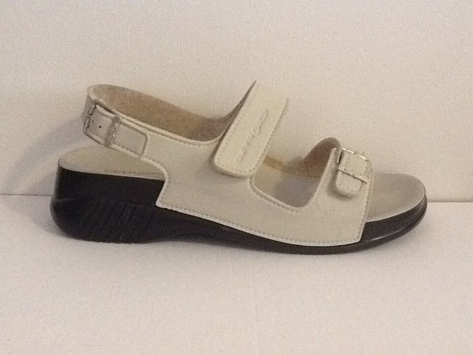 New  ceyo comfortable sandal for women beige color size 8 without box