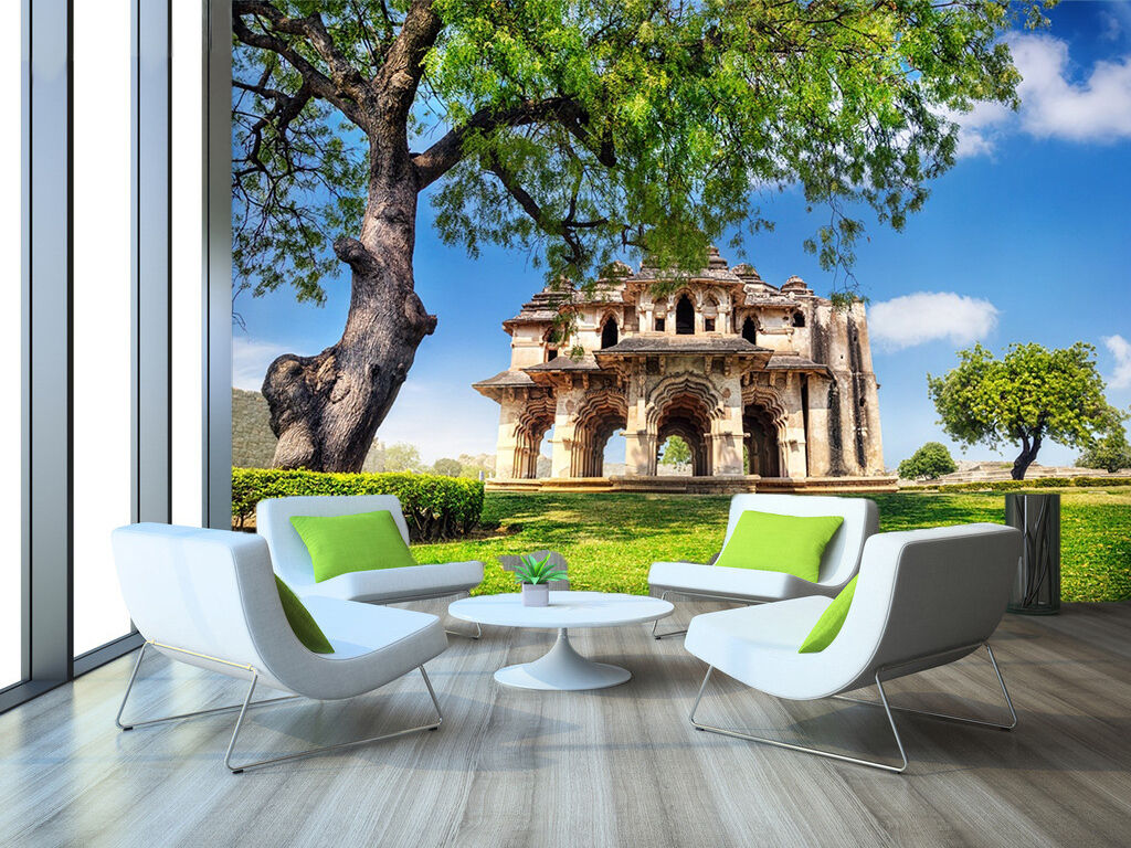 3D Lawn Anicent Sites 2266 Paper Wall Print Wall Decal Wall Deco Indoor Murals