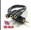 Speaker-Headphone-Splitter-cable-adapter-1-x-Male-3-5mm-3-x-Female-3-5mm-jack 縮圖 1
