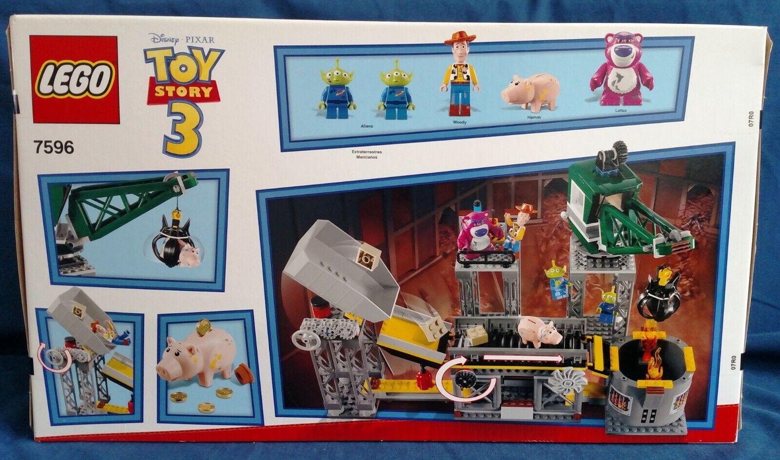LEGO  7596 giocattolo storia  Trash Compactor Escape  molte sorprese