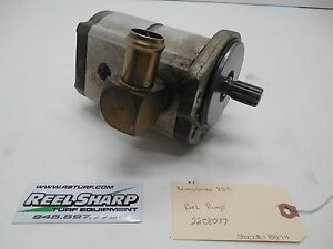 Details about Ransomes 250 Fairway Mower Reel Pump 2208087 2wd diesel parts  drive auxiliary